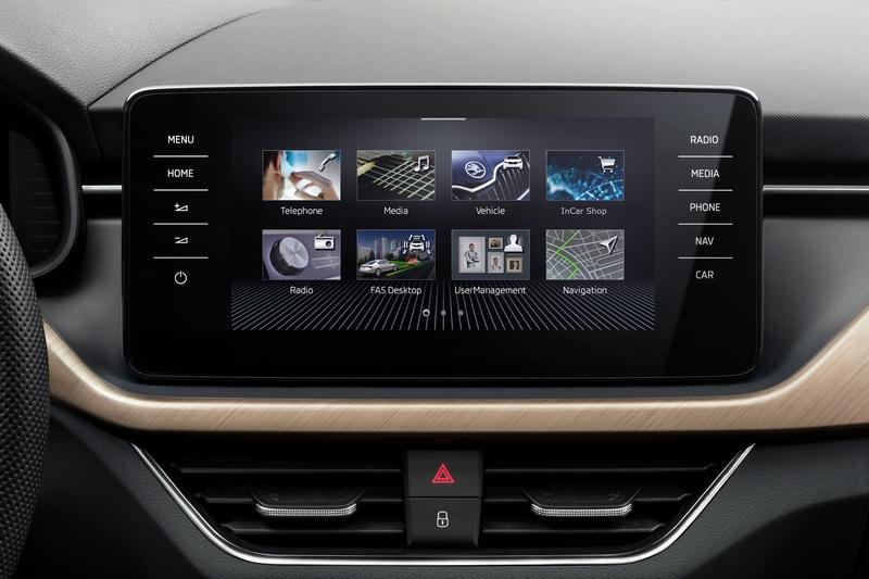 中控採獨立式9.2吋觸控螢幕,並搭載第三代MIB資訊娛樂系統,提供更直覺的操作介面。
