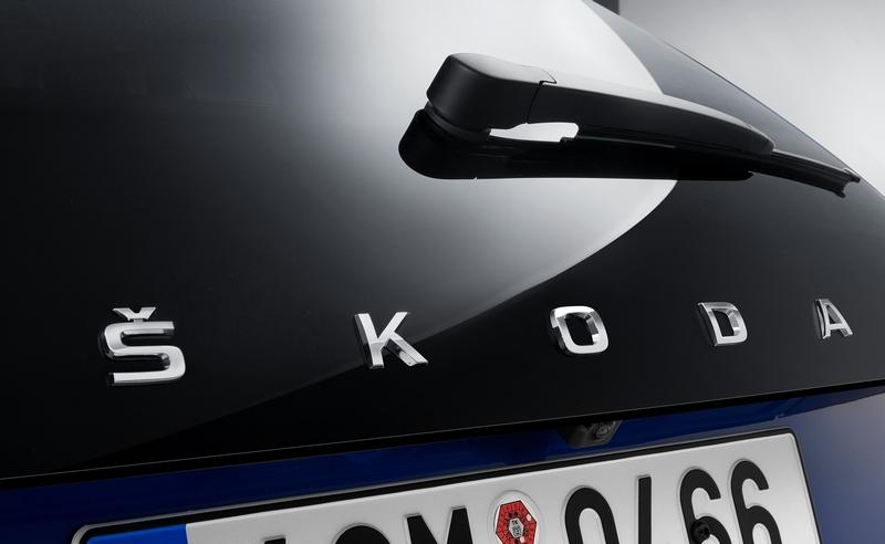 小改Superb廠徽有可能會採與Scala相同的Skoda字體銘牌。