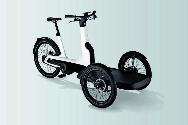 Cargo e-Bike配置250kw功率的電動馬達,具有時速25km/h、100公里行駛里程表現。