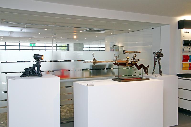 MOBELLIO另展出一系列工藝飾品。