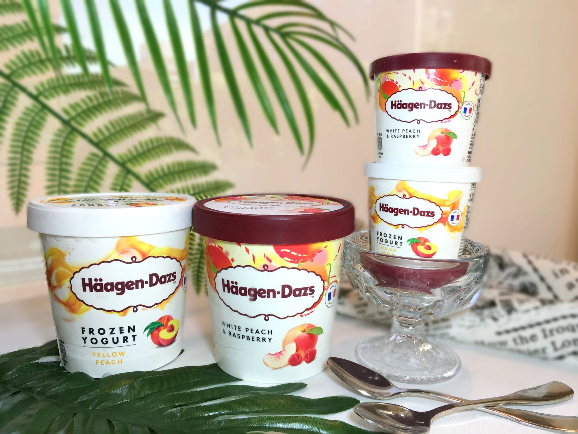 盛夏戀愛的滋味!Häagen-Dazs推出全新限定口味大開桃憩派對!