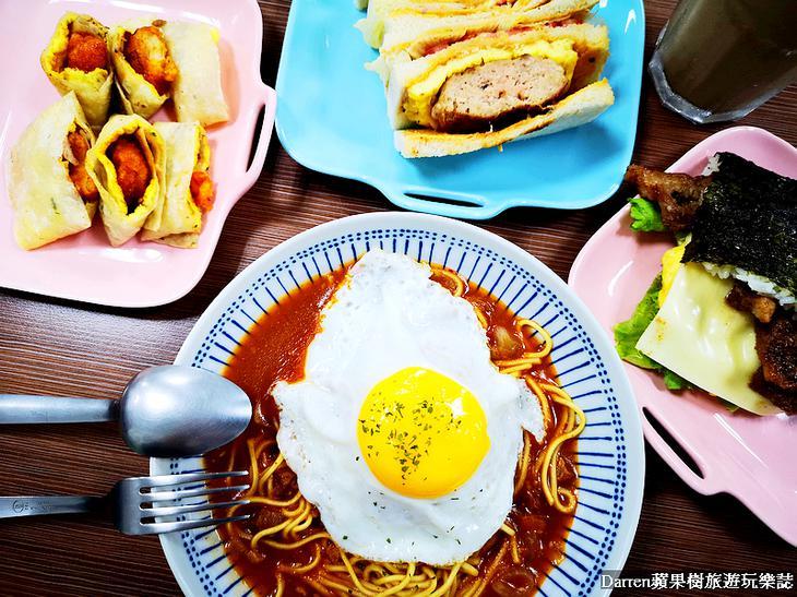 桃園歐爸碳烤吐司早午餐/開南大學美食