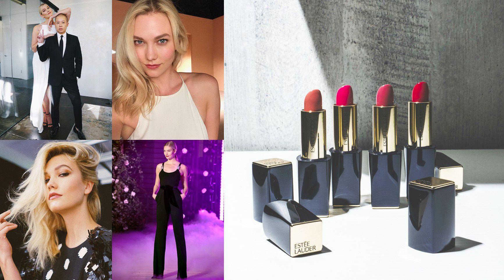 時尚超模天使Karlie Kloss自信耀眼的秘密武器,不失手支支強打色的「絕對慾望奢華潤唇膏」