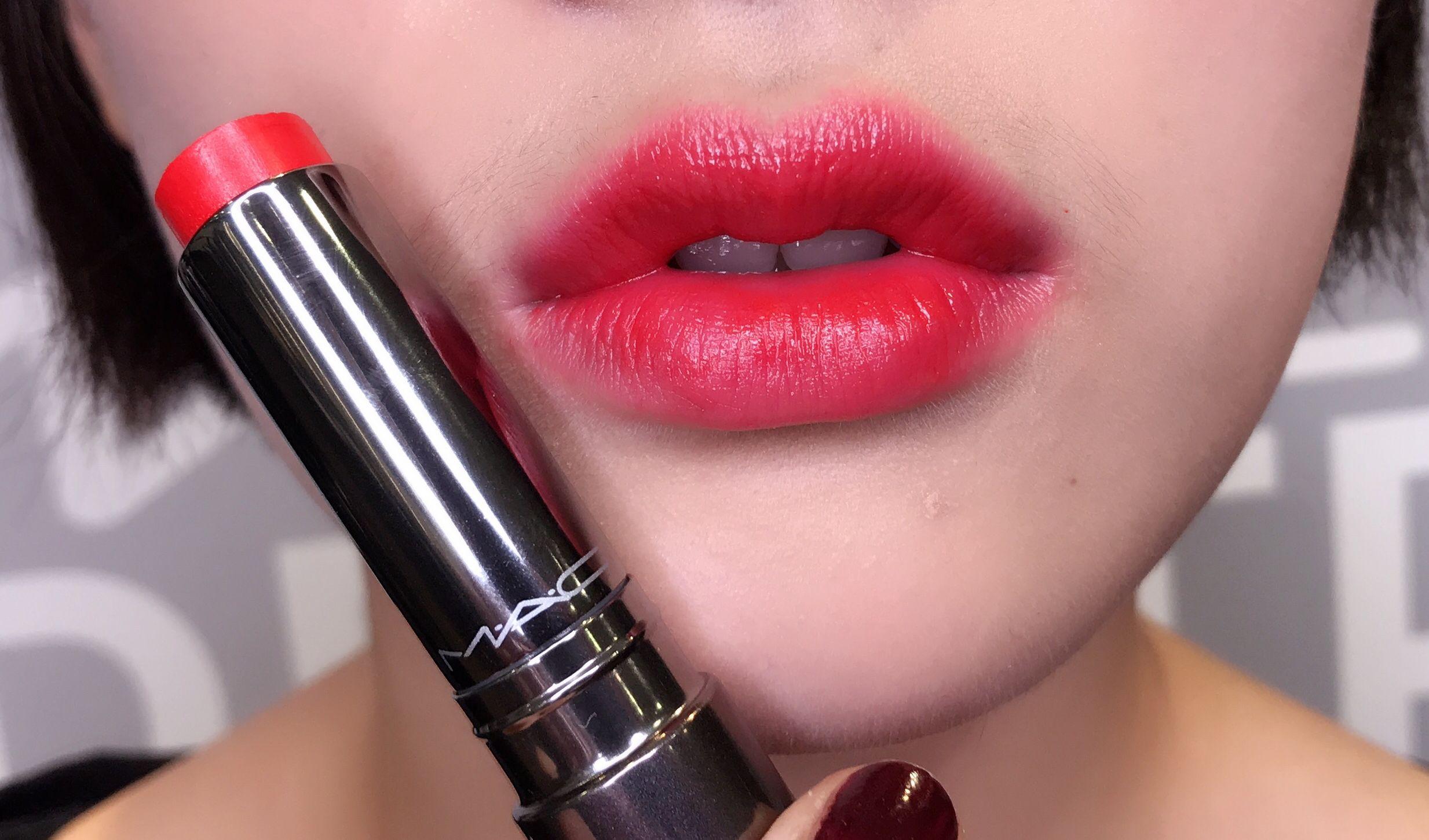 M‧A‧C性感嘟唇膏極度水潤的飽和美色,推薦色號請筆記
