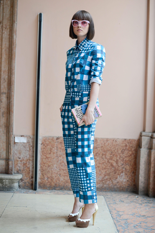 OLYMPIA LE-TAN Street Style Day 2 - Milan Fashion Week Menswear