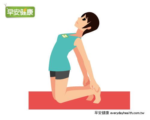京都同仁堂 瑜珈駱駝式3