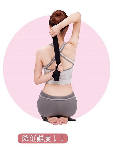 改善失眠瑜珈:牛面式