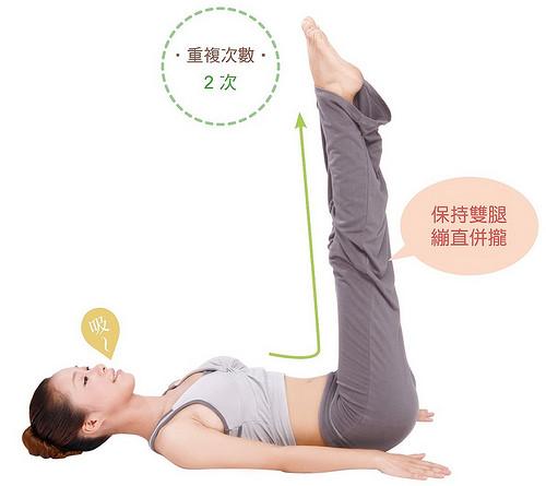 改善失眠瑜珈:犁式