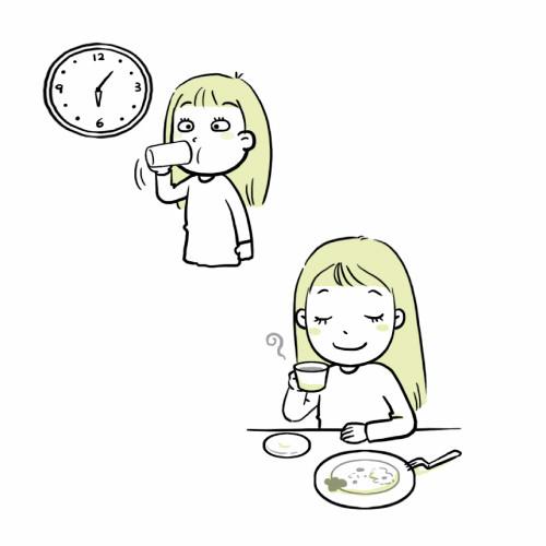 改善便祕食療:喝溫水、喝黑咖啡