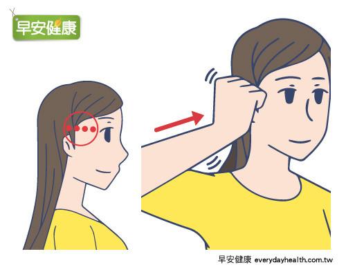 消除眼睛浮腫的按摩法