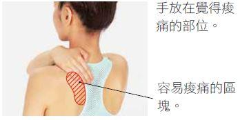 放鬆肩胛骨,關節,肩頸痠痛