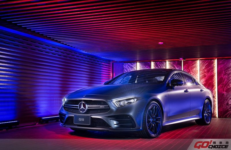 The new CLS 創造全新「Sensual Purity」設計語彙,在Mercedes-AMG CLS 53 4MATIC+車型上更具侵略性 (展示車型另有選配 AMG Edition 1 套件)
