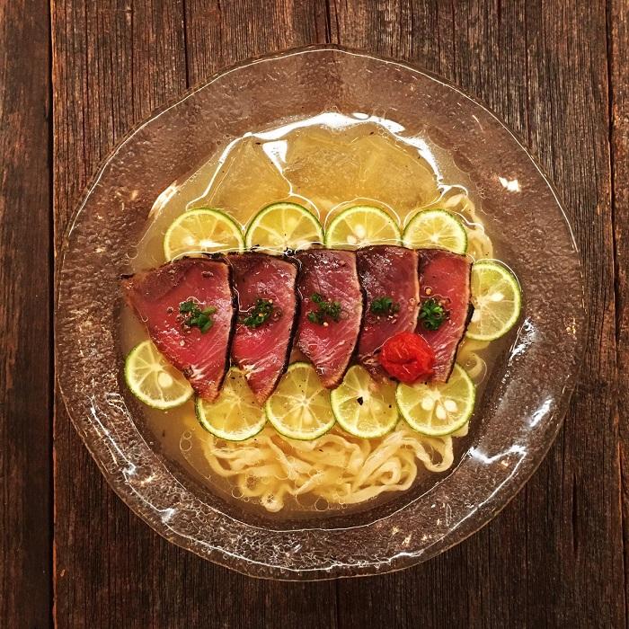 鰹魚冷拉麵