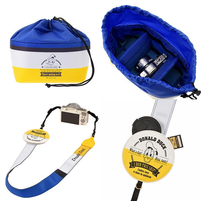 インナーバッグ+カメラストラップ相機收納包與相機背帶