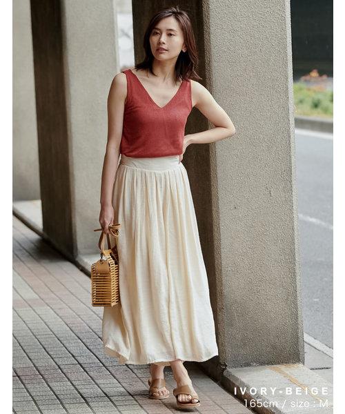 外型如長裙般的寬版褲