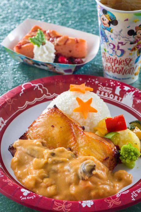 東京迪士尼耶誕餐點