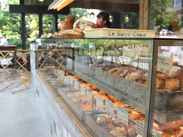 Le Sucre Coeur麵包展示櫃