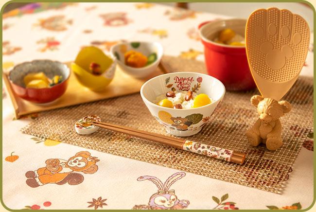 Duffy秋日餐具