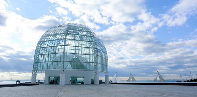 葛西臨海水族園建築
