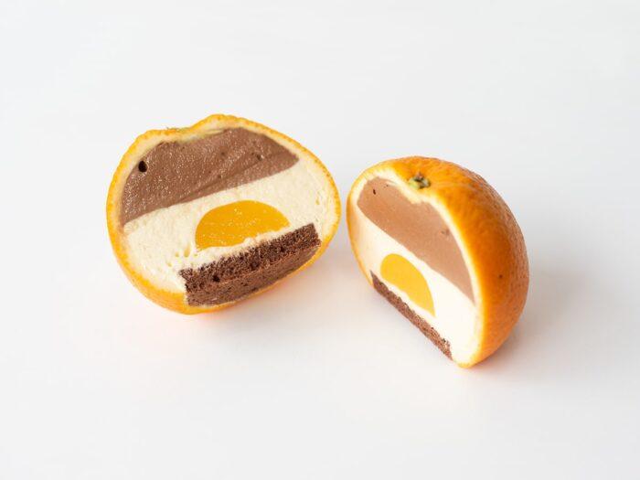 GrowLevel整顆巧克力橘子蛋糕