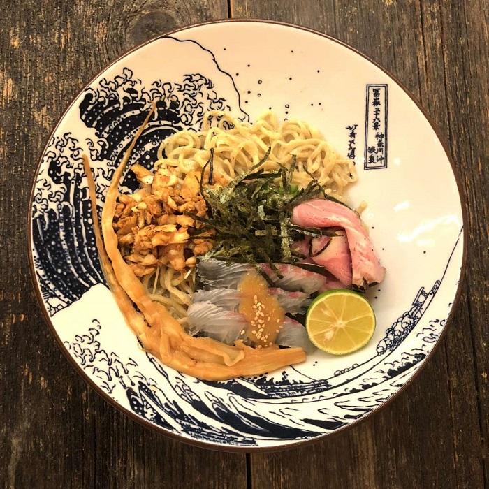 鯛魚茶泡蕎麥麵