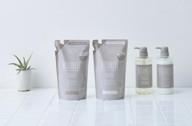 BONTANIST_DAMAGE_CARE_shampoo and treatment_洗髮精與潤髮乳補充包