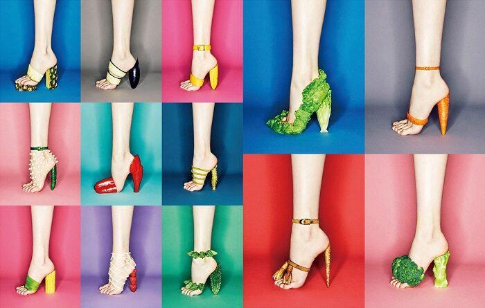 吉田ユニ蔬菜高跟鞋作品
