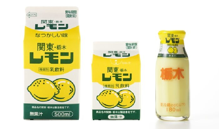 檸檬牛奶 盒裝 瓶裝