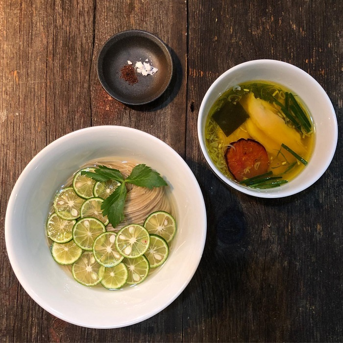 神山酢橘新麥沾麵
