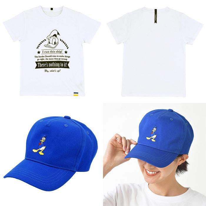 Logo短袖T恤 / 刺繡老帽