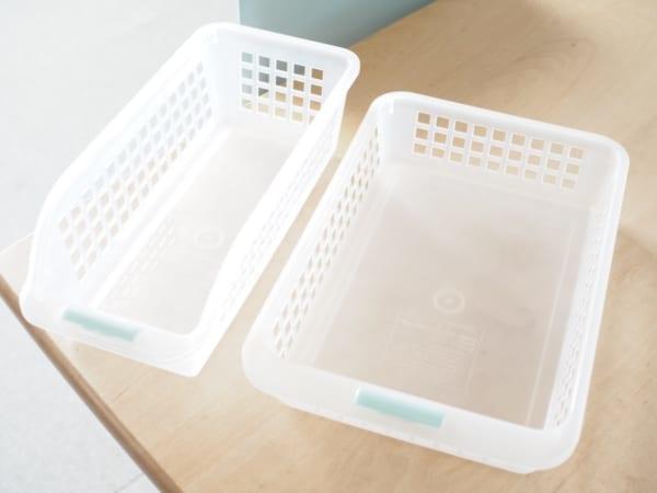 DAISO 可疊式冰箱分區整理盒