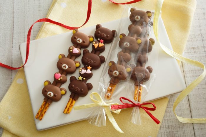 巧克力棒造型模成品