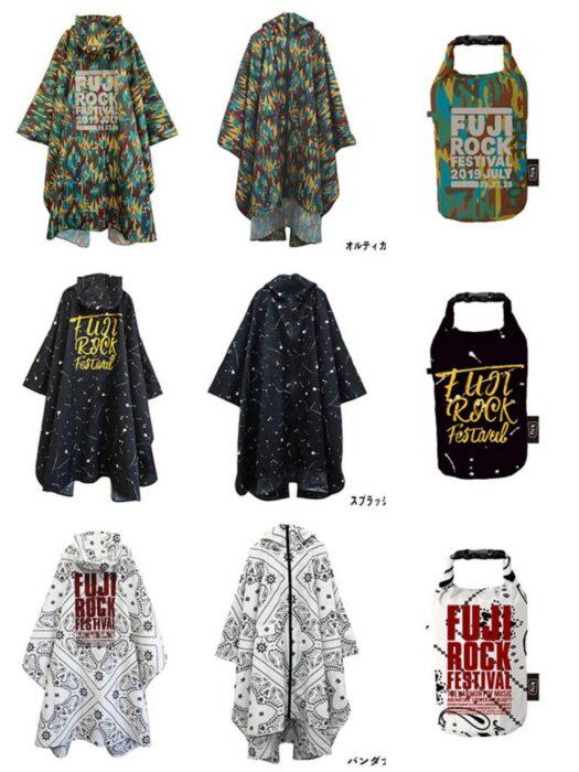 FUJI ROCK2019雨衣