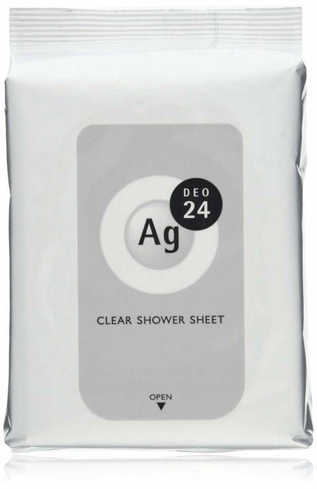 Ag DEO24 清潔沐浴紙巾 clear shower sheet