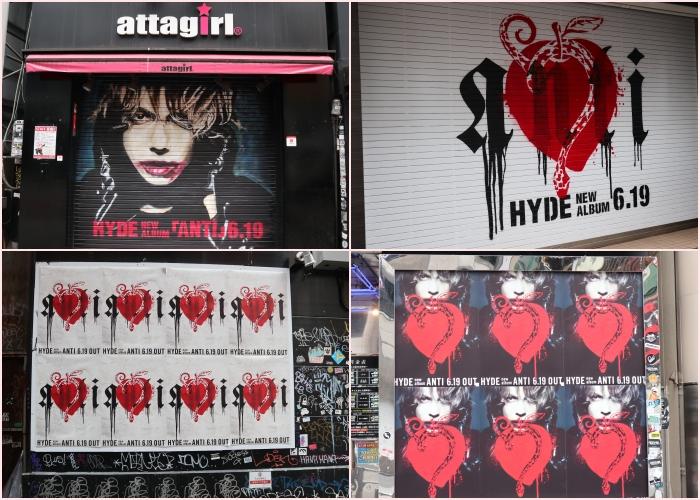 #HydeTakingOverTokyo活動街頭照3