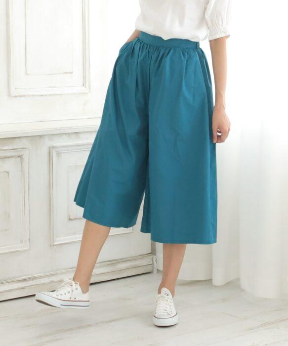防撥水褲藍綠