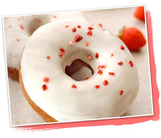 日本星巴克2018聖誕新品第三彈白巧克力草莓甜甜圈