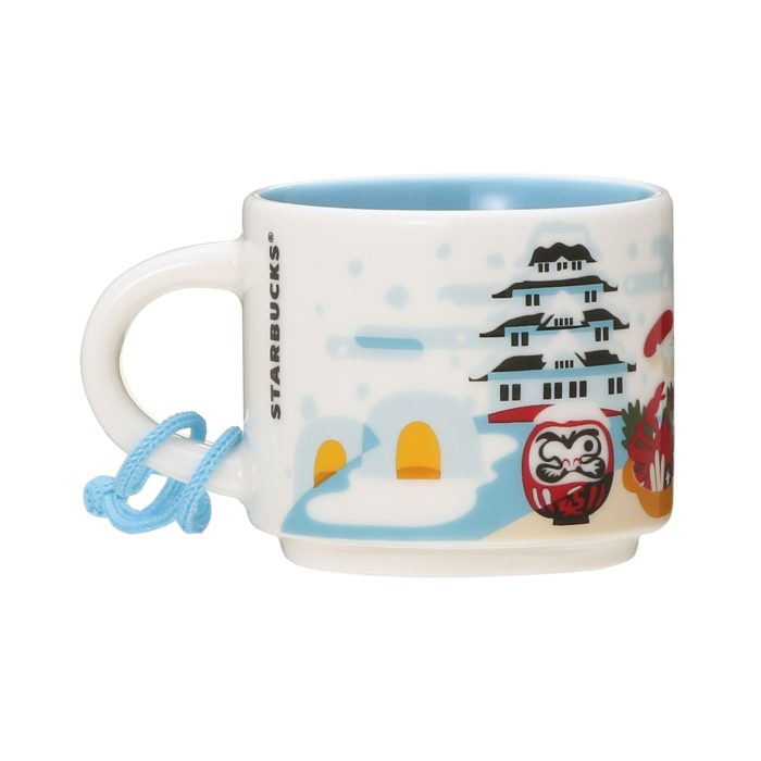 You Are Here Collection 迷你馬克杯 JAPAN Winter 另一面