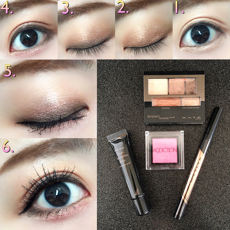 濕潤豔澤的棕色♡3D棕影立體眼影盒N(Brown Shade Eyes N) mari_loves_beauty