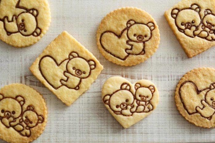 拉拉熊餅乾壓模成品