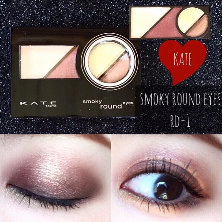 營造出酷酷的煙燻眼妝♪微熏光暈眼影(Smoky Round Eyes) mari_loves_beauty