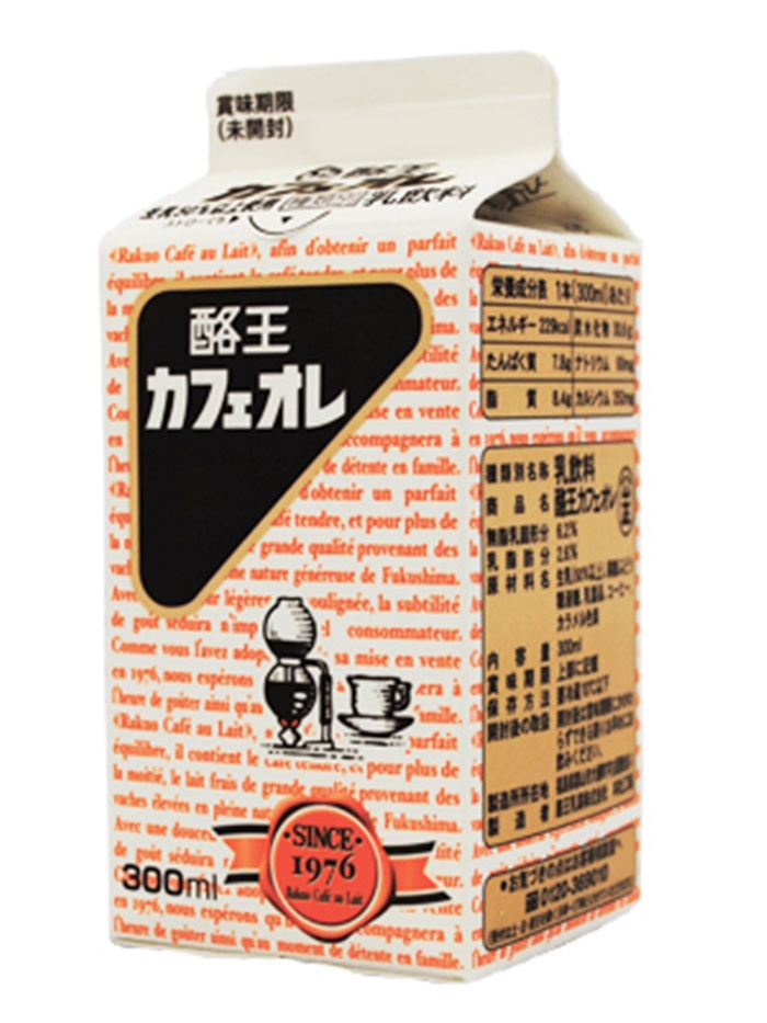 福島酪王咖啡歐蕾 酪王カフェオレ