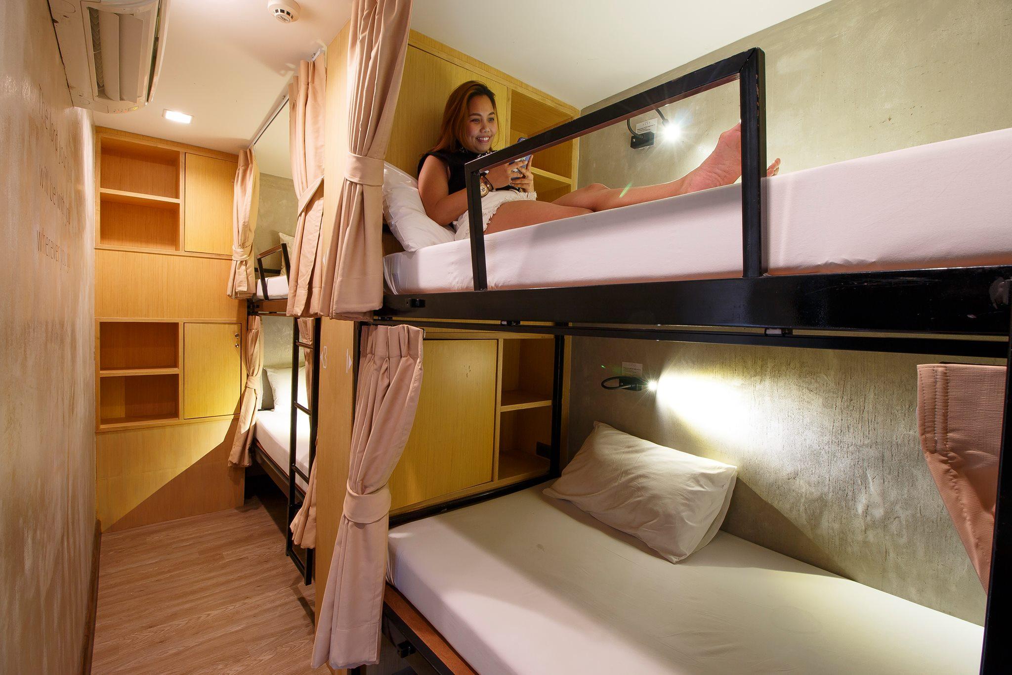 房間內部(圖片來源:Cazz hostel官網 http://cazzhostel.com/)