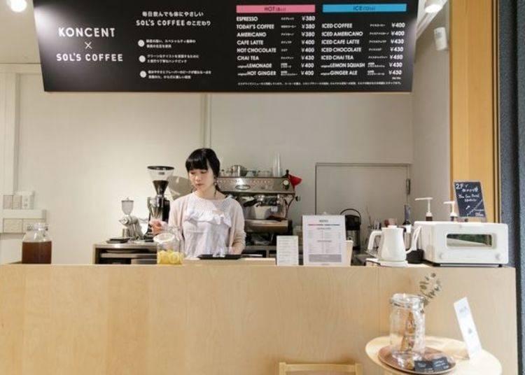還能和咖啡師討論,挑選幾種自己喜歡的咖啡豆,製作客製化的咖啡唷!