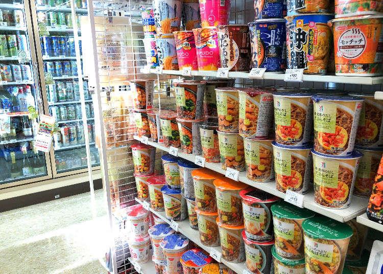 日本便利商店的泡麵也要吃好吃滿!不能錯過的7-11人氣泡麵大公開!