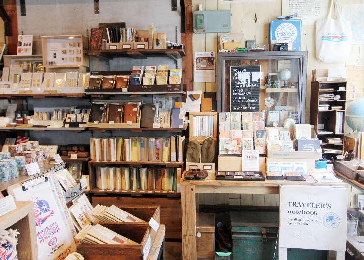 文青必訪!隱身巷弄的日本文具雜貨特色小店「Traveler's Factory」
