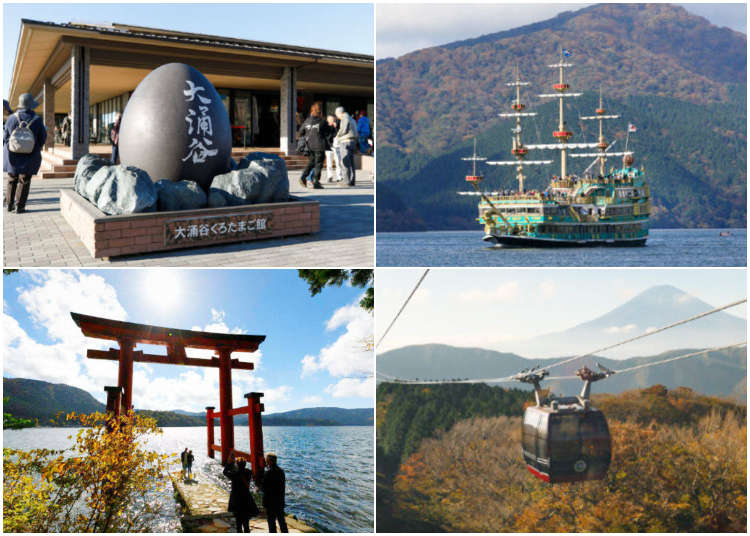 東京近郊一日遊行程這樣排!「箱根」「蘆之湖」美食&美景不藏私大推薦