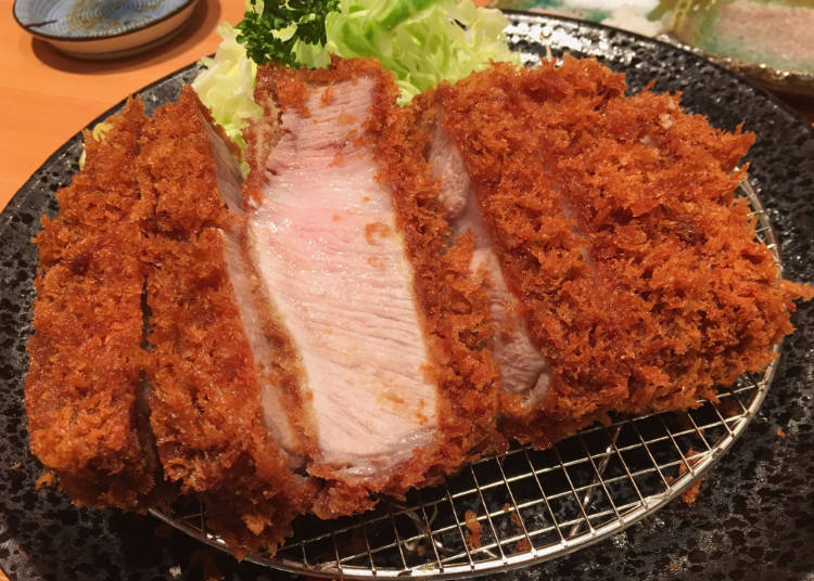 「特選里肌豬排定食 2,300日圓」