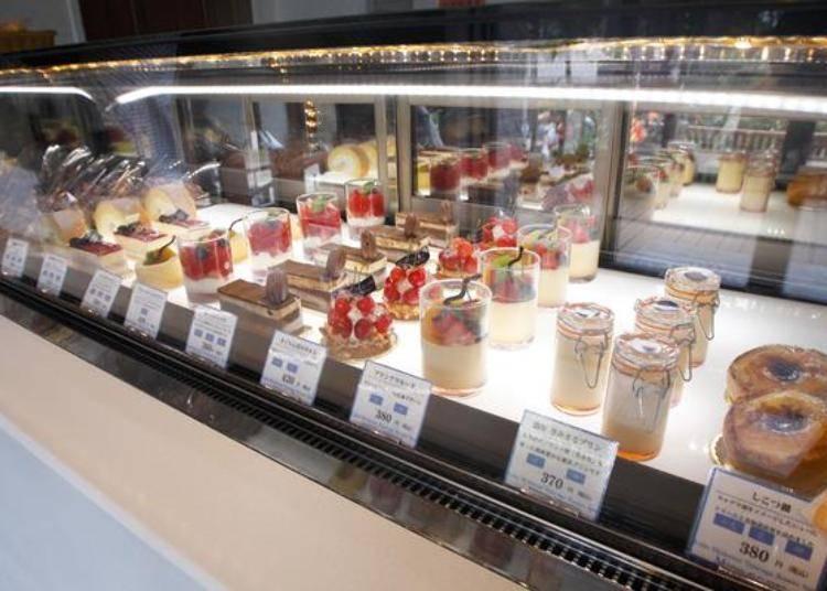 ▲使用北海道食材的甜點琳瑯滿目