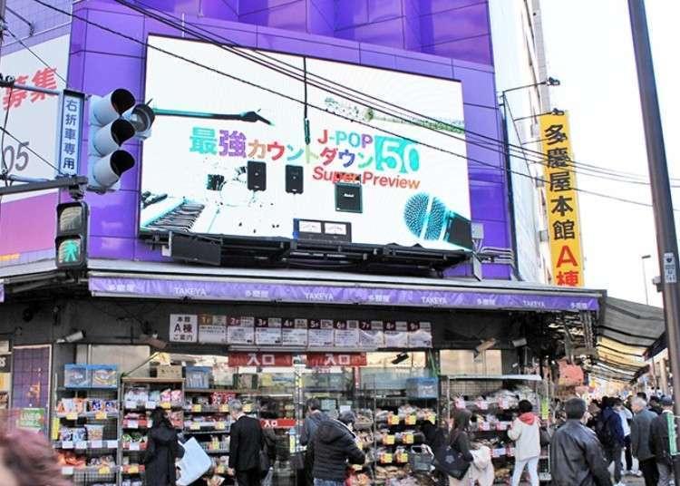 【東京上野】旅遊購物就到最強綜合折扣商場!上野御徒町的「多慶屋」